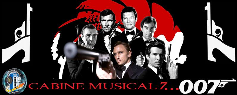Cabine Musical 007 – Especial James Bond!
