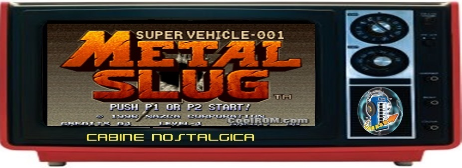 Cabine Nostálgica: Metal Slug Super Vehicle SV-001