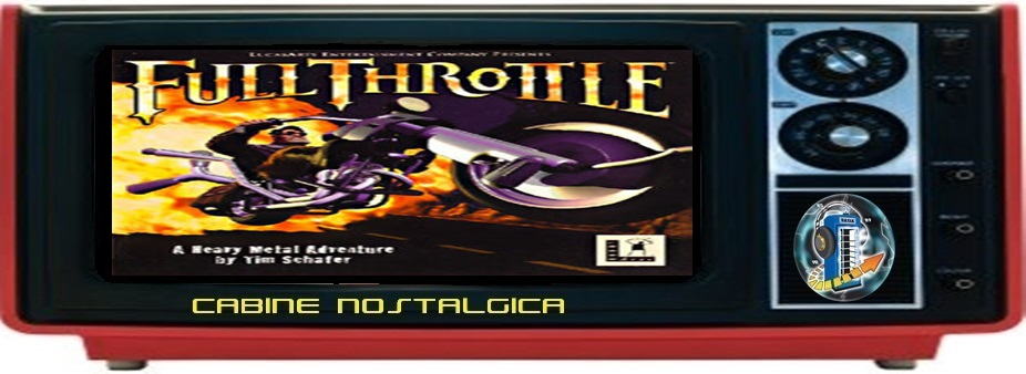 Cabine Nostálgica: Full Throttle