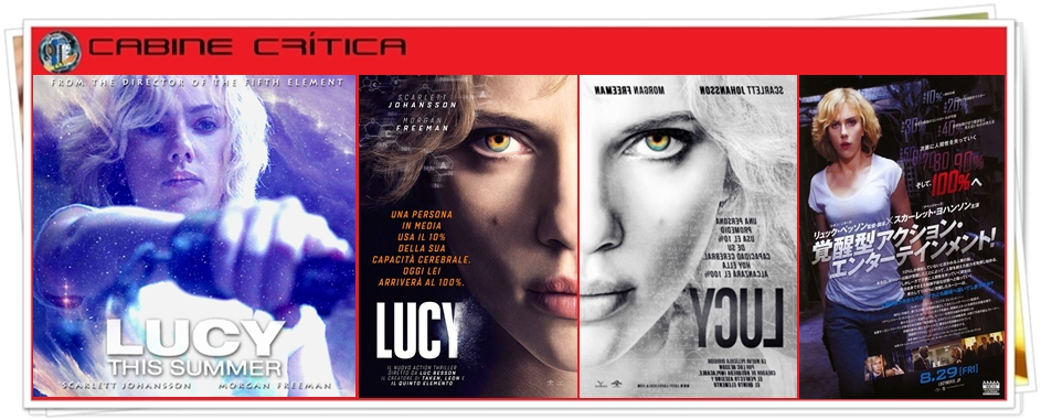 Cabine Crítica : Lucy (2014)
