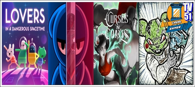 Cabine Gamer TV 51- Lovers,Curses,Ninja X e Drawn to Death! – Games da Psn Abril 2017!