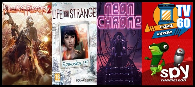 Cabine Gamer TV 60- Stranger,Spy,Chrome e Floor2! – Games da Psn Junho 2017!