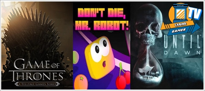 Cabine Gamer TV 63 – Got,Robot e Dawn! – Games da Psn Julho 2017!