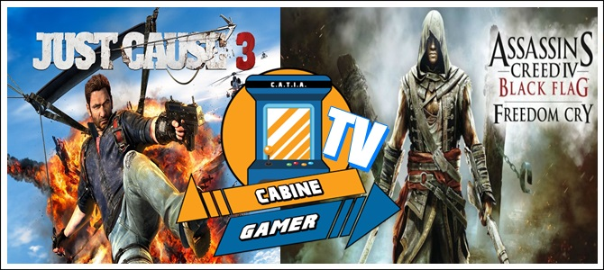 Cabine Gamer TV 66 – Just e Freedom! – Games da Psn Agosto 2017! – Pt 1.