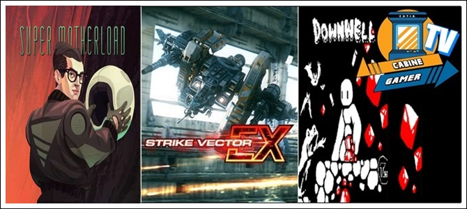 Cabine Gamer TV 67 – Mother,Strike e Downwell! – Games da Psn Agosto 2017! – Pt 2.