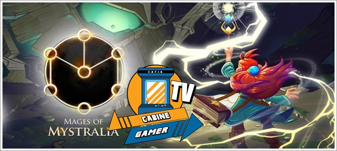 Cabine Gamer TV 88 – Mages of Mystralia – Chefão do Chefão!
