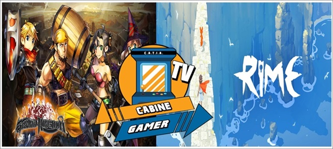 Cabine Gamer TV 92 – Grand Kingdom e Rime! – Games da Psn Fevereiro 2018!