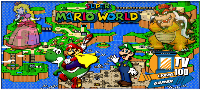 Cabine Gamer TV 100 U2013 Super Mario World U2013 Ô Clássico!